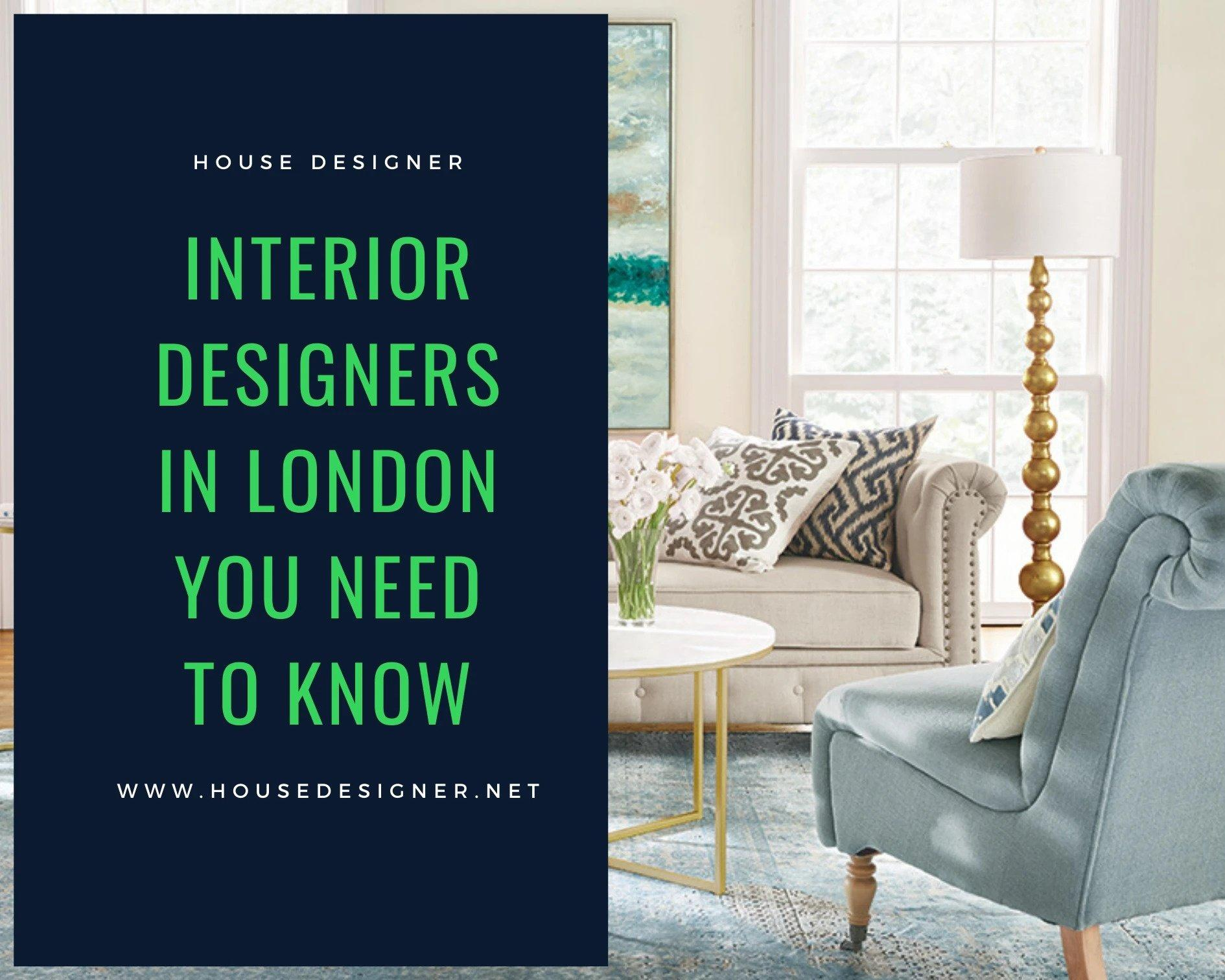 Interior Designers in London